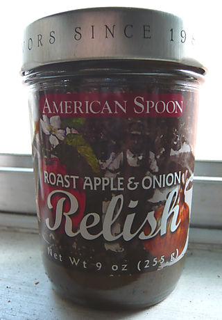Appleonionrelish