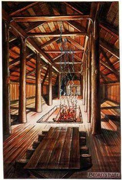250px-J.R.R._Tolkien_-_Beorn's_Hall_(Colored_by_H._E._Riddett)